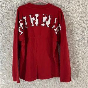 Minnie longsleeve jersey shirt size S